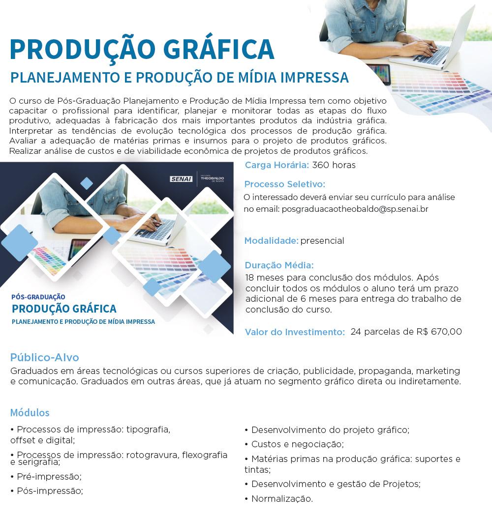 planejamento produção de mídia impressa